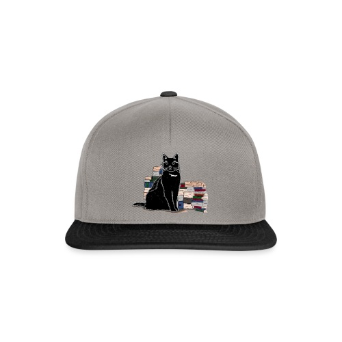 Black Book Cat - Snapback Cap