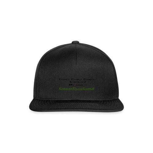 cpg intro - Snapback Cap