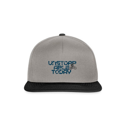 unstoppable today downhill - Snapback Cap