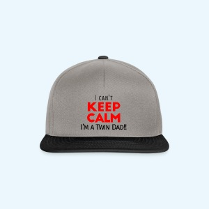 I Can't Keep Calm (Dad's Only!) - Snapback cap