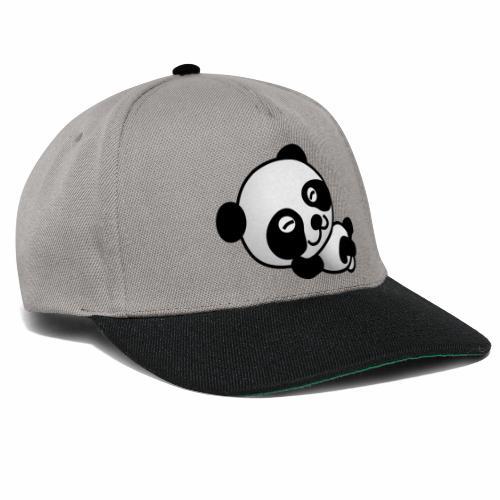panda 154984 1280 - Snapback Cap
