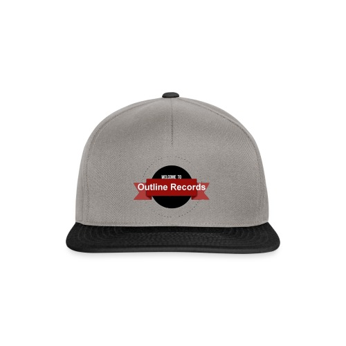 Outline records - Snapback Cap
