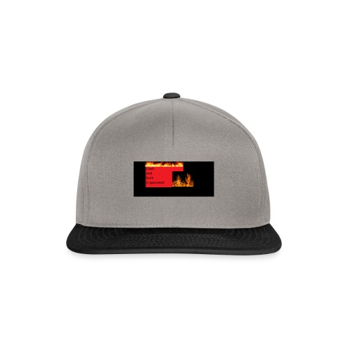 crash and burn - Snapback Cap