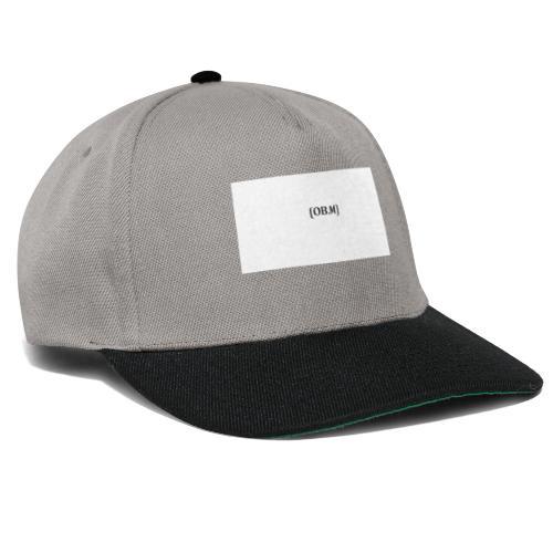 OB M LOGO - Snapback Cap