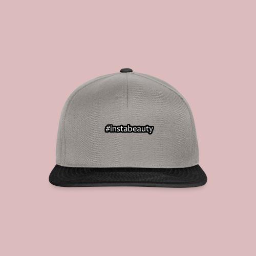 instabeauty schwarze outlines - Snapback Cap
