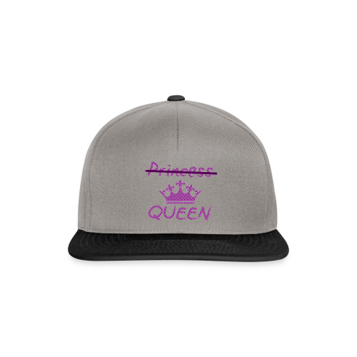 Not a princess but a QUEEN - Snapback cap