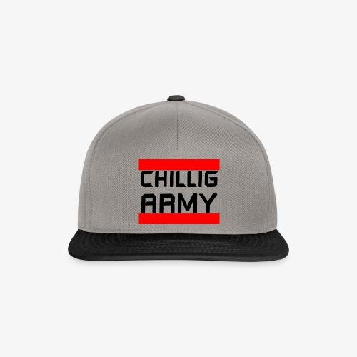 Chillig Army - Snapback Cap