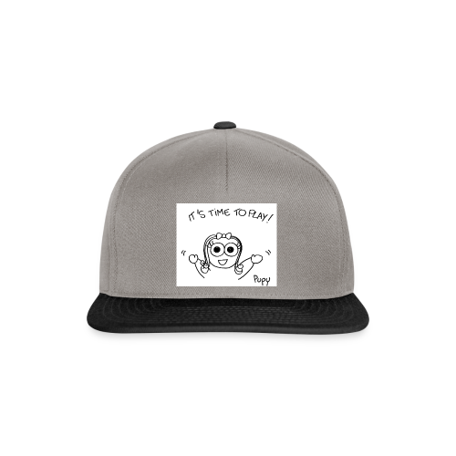 Pupy: time to play! - girl - Snapback Cap