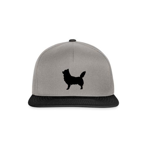 Chihuahua pitkakarva musta - Snapback Cap