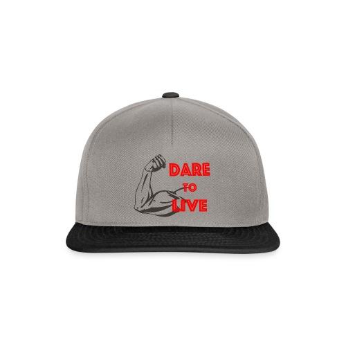 Dare2Live - Snapback cap