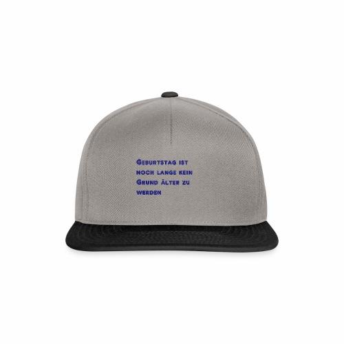 Geburtstag - Snapback Cap