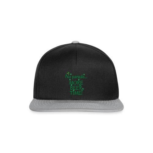 st patrick's day tee shirt - Snapback Cap