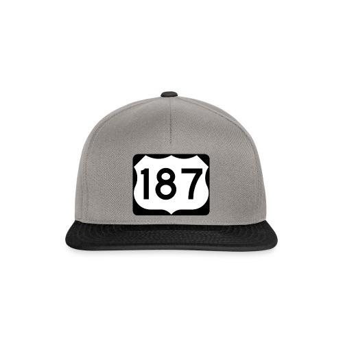 187 - Snapback Cap