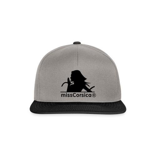 missCorsica 2B - Casquette snapback