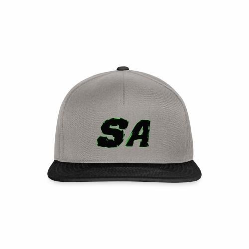 Svart SA Logo - Snapbackkeps