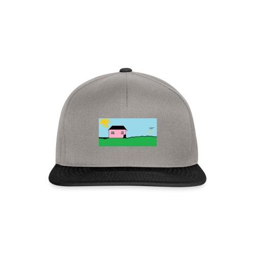 tskjorte med hus - Snapback-caps