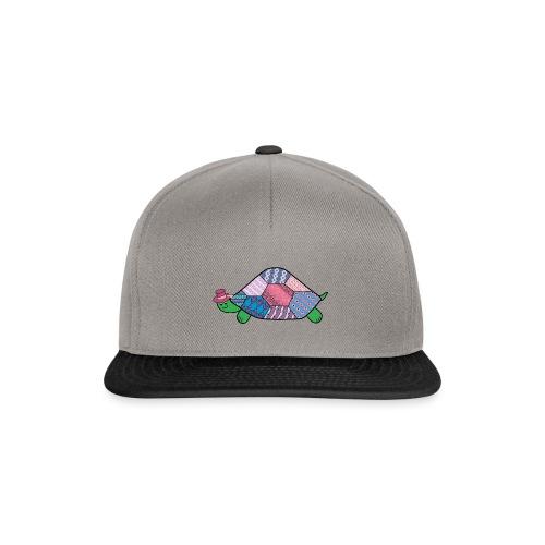 purple tortoise - Snapback Cap