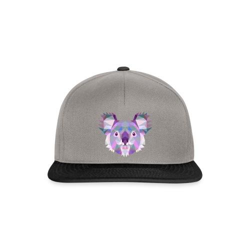 Triangle vector koala - Snapback Cap