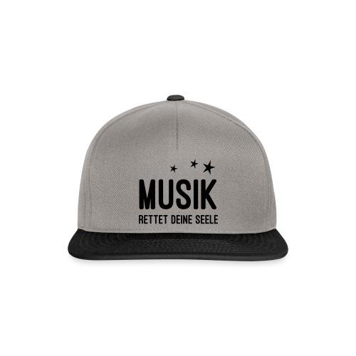 Musik rettet Deine Seele - Snapback Cap
