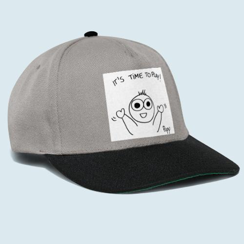 Pupy: time to play! - boy - Snapback Cap