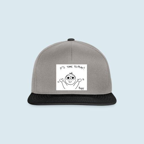 Pupy: time to play! - boy - Snapback Cap