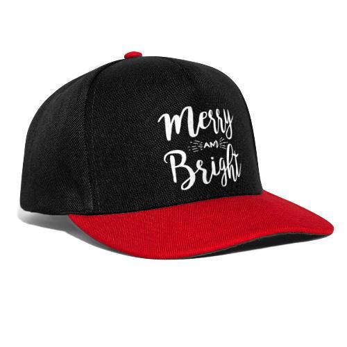 Merry and Bright - Snapback Cap