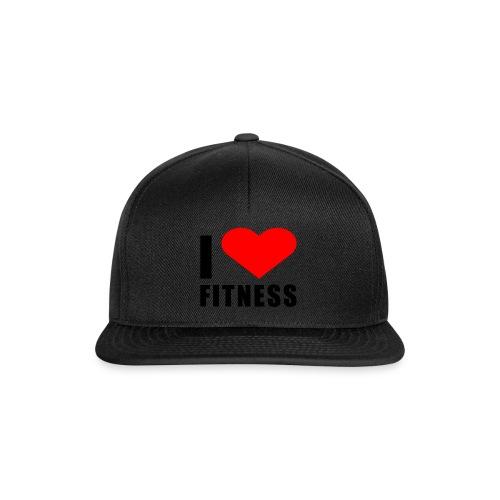 I LOVE FITNESS - Snapback Cap