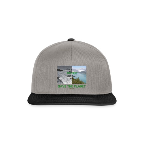 Save the planet - Casquette snapback