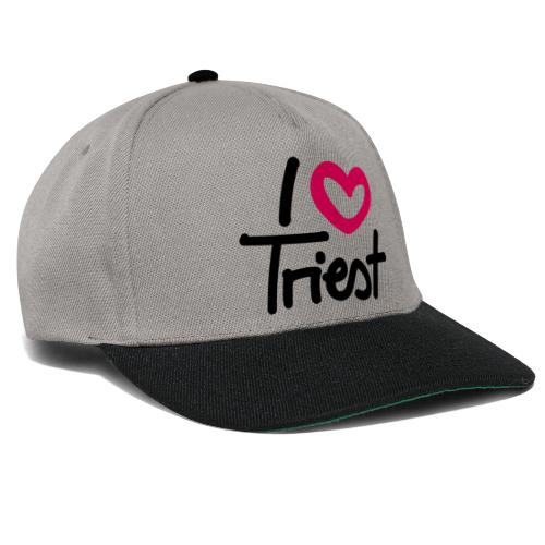 I love/heart Triest. - Snapback Cap