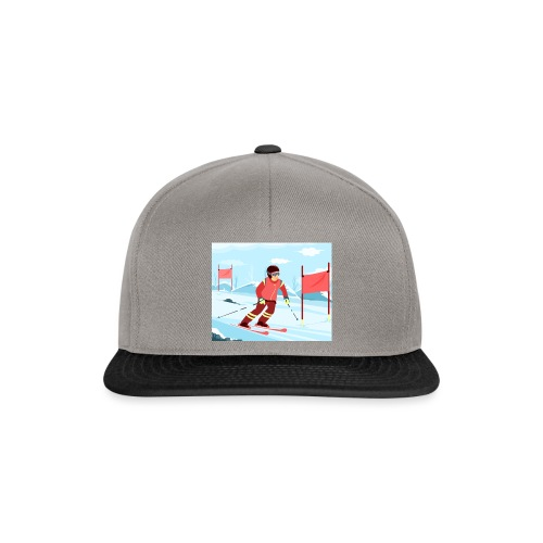 Professional Skier - Snapback Cap