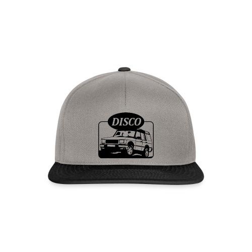 landroverdisco01dblack - Snapback-caps