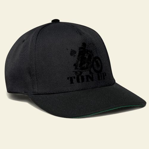 ton up black - Snapback Cap