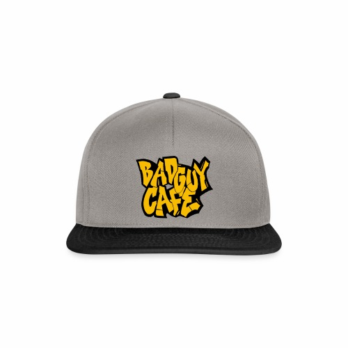 Bad Guy Cafe Logo - Snapback Cap