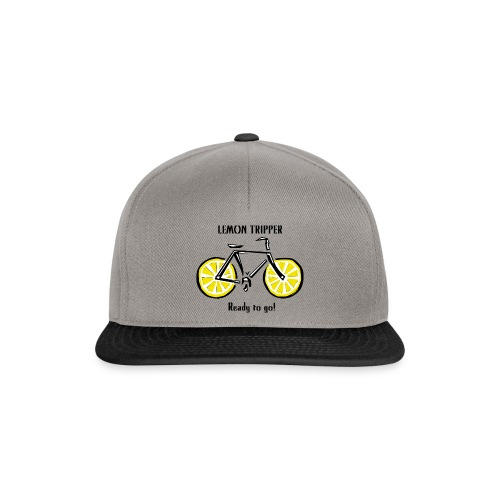 LEMON TRIPPER BICYCLE Textiles and Gifts Products - Snapback Cap