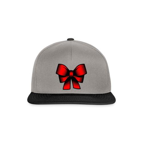 Schleife rot - Snapback Cap