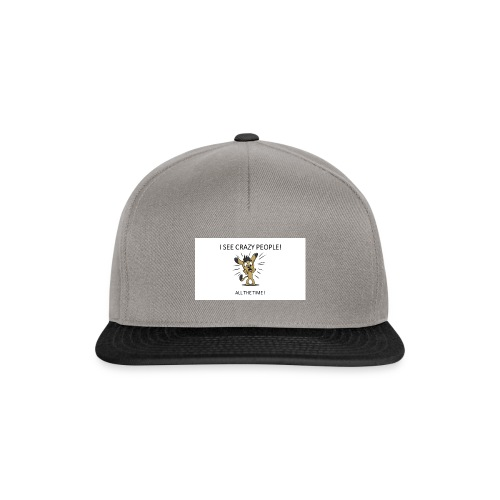 CRAZY_PEOPLES - Casquette snapback