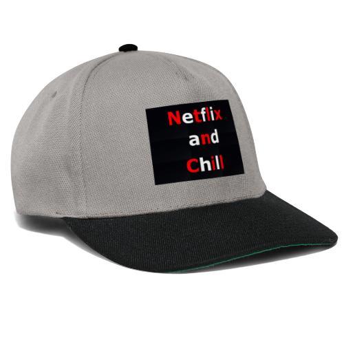 Netflixx and Chill - Snapback Cap