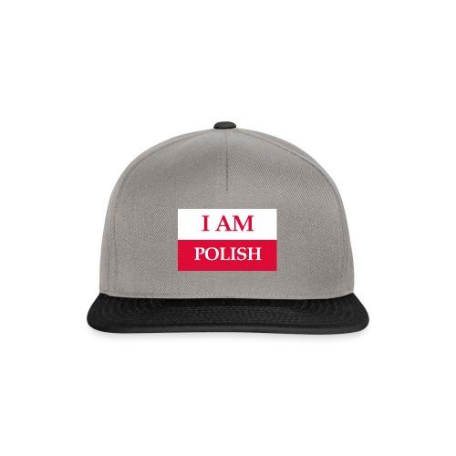 I am polish - Czapka typu snapback