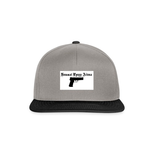 hommat pysyy aitona paita - Snapback Cap