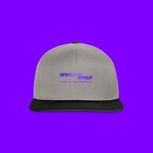 WINTERWOLF LOGO Part of The Wolfpack T-shirt - Snapback cap