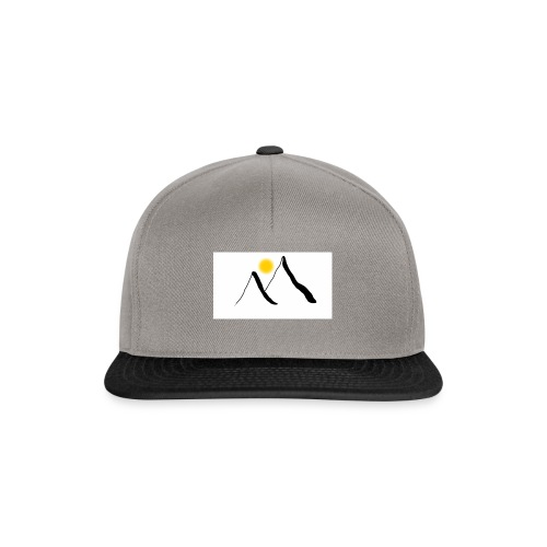Mountain and sun - Snapback Cap