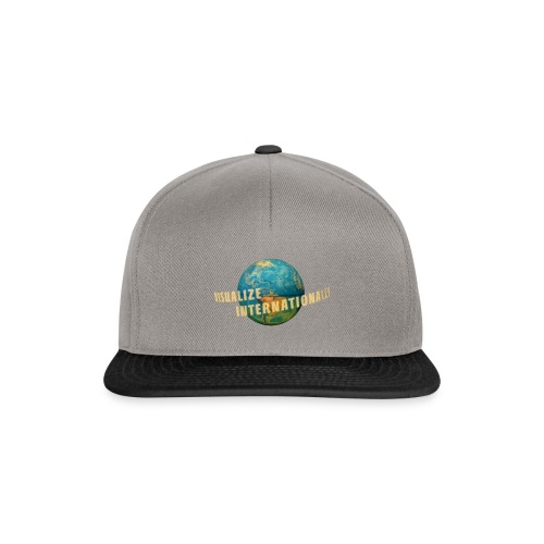 Visualize Internationally Shirt - Snapback Cap