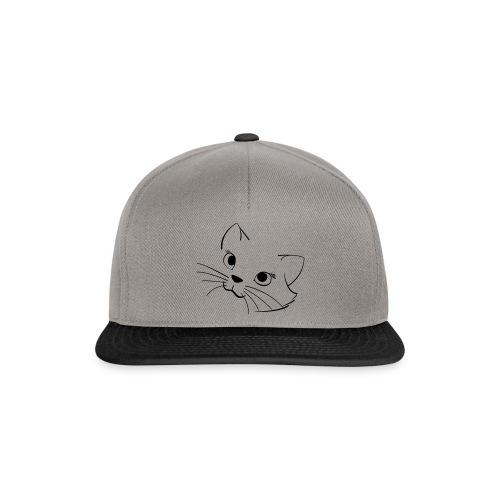 En söt katt - Snapbackkeps