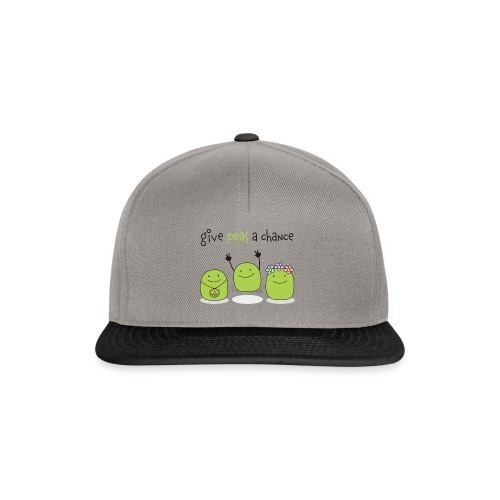 Give peas a chance! - Snapback Cap
