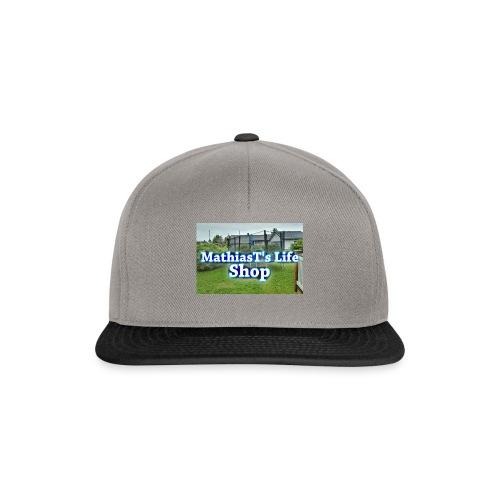 Min shoplogo - Snapback-caps