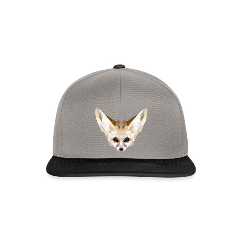 Fennec low poly - Casquette snapback