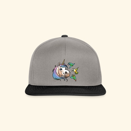 Einhorn und Kolibris - Casquette snapback