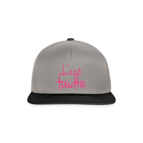l'art foudre - Snapback Cap