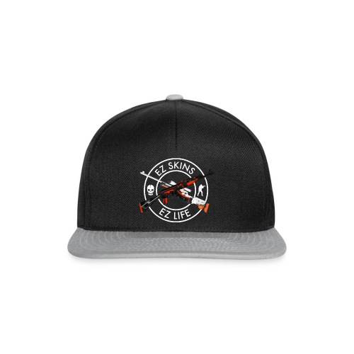 ex1 for black shirts - Snapback Cap