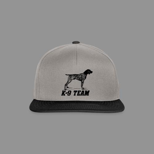 K-9 Team - German Shorthaired Pointer - Snapback Cap